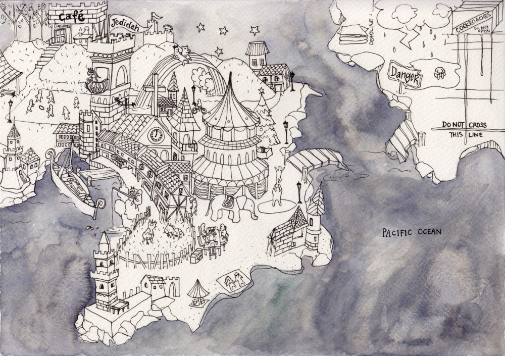 Jedidah's Map